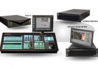 Vision 2 Live Production Studio - Switcher, Graphic Systems and video server
